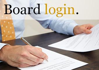 Board Member login